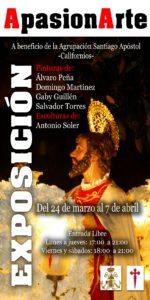 Exposición a beneficio de la Agrupación de Santiago